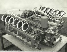 Alfa Romeo Tipo 33 TT 12 engine