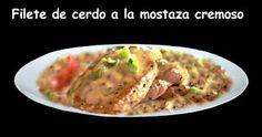 Blog de palma2mex : Filete de Cerdo Con Salsa Cremosa de Mostaza