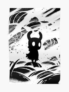 'Hollow Knight Inspired Painting' Poster by Dick C Solt Character Art, Character Design, Knight Tattoo, Hollow Night, Hollow Art, Knight Art, Animes Wallpapers, Dark Art, Illustration