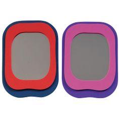 Locker Rocker Mirror - Make sure your hair is in place before you sit near your crush during next period Locker Supplies, Classroom Supplies, Lockers, Period, Student, Mirror, Fun, Hair, Shopping