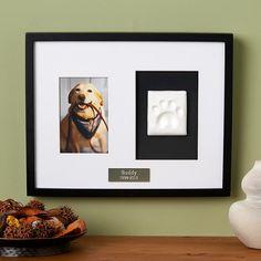 Pet Keepsake Memorial Frame