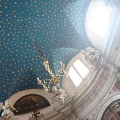 Day 60 #the100dayproject - Starry ceiling. This photo was really tricky as I had to try to get my camera phone lens through the iron gates #100daysofsurfacepattern #stars #starrynight #starryceiling #kotor #montenegro #basilicacathedral #cathedral #communityovercompetition #etsyuk #etsyseller #etsyelite #creativelifehappylife #createyourhappy #creativityfound #creativelife #livecolourfully #makerstoknow #thesehandsthatmake #colorfullycrafted #craftsposure #cbloggers #craftsposure…
