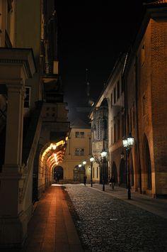 Prague Street | by David Oliver on 500px