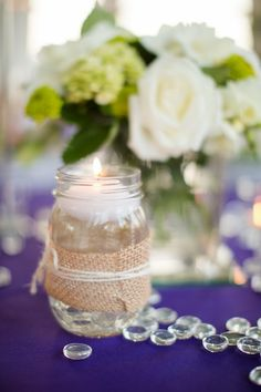 Real Wedding: Julie & Jason: A foodie and her beau create a rustic, elegant wedding with a four-star spread of food.