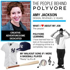 Meet Amy, a member of our design team in NYC. When she's not creating beautiful images and graphics, Amy is a dedicated runner (NYC Marathon!) and has been known to take apart a Lexus down to its nuts and bolts. Find out how the #PolyvoreTeam works, from NYC to the Bay Area: http://polyv.re/1gL1V0I