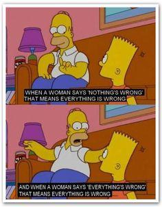 Homer About Women