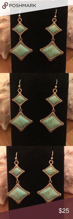 Barse 925 Turquoise Earrings Barse 925 Turquoise Earrings Barse Jewelry Earrings