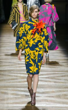 Dries Van Noten RF14 París PFW 2014