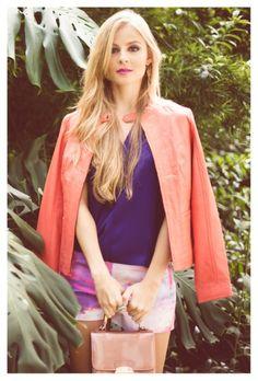 Sunset  editorial moda  2014 http://iconastyle.co/de-la-primavera-al-verano-sunset-hay-editorial-de-moda/