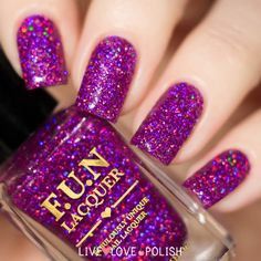 Fun Lacquer Holo Queen (Simplynailogical Collection) (PRE-ORDER SHIP BEFORE 7/15/16)