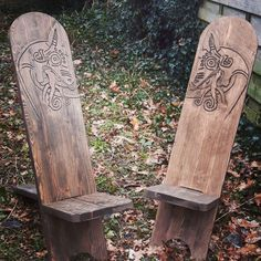 Reenactment chairs ( viking chair )