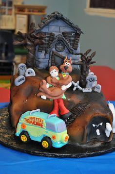 Scooby Doo Cake Torta Scooby Doo, Foundant, Adoption Party, Cakes For Boys, Fancy Cakes, Cupcake Cakes, Cupcakes, Themed Cakes, Fall Recipes