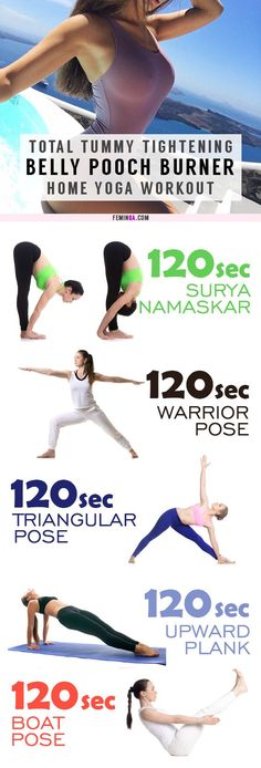 This killer yoga tummy-cinching routine works magic on muffin tops and that soft belly pooch! It will leave your tummy tight and toned in two weeks as well as shedding unwanted fat Quick Weight Loss Tips, Weight Loss Help, Lose Weight In A Week, Weight Loss For Women, Reduce Weight, How To Lose Weight Fast, Loose Weight, Losing Weight, Slimming World