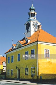 News Photo : The Old Town Hall in Rauma, Finland.