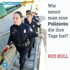 Polizeiwitze - Polizistenwitze - Red Bull