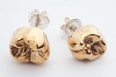 You never get a second chance to make a first impression. So if you only get one chance to make a first impression be sure to wear your 24 carrot gold molar earrings so everyone knows you brush your teeth twice a day and floss before bedtime.