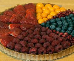 Pi graph pie - check out the tutorial - gorgeous photos. :)