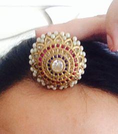 Tika Jewelry, Head Jewelry, Royal Jewelry, Jewelery, Jewelry Center, India Jewelry, Indian Jewelry Sets, Indian Wedding Jewelry, Indian Bridal