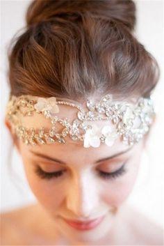 #coiffe #headdress Nouvelle tendance 2014 à suivre-Les coiffures plus populaires pour mariage printemps