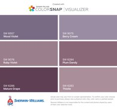 I found these colors with ColorSnap® Visualizer for iPhone by Sherwin-Williams: Mineral Gray (SW Web Gray (SW Westchester Gray (SW Serious Gray (SW Homburg Gray (SW Charcoal Blue (SW Exterior Gray Paint, Exterior Paint Colors For House, Interior Paint Colors, Paint Colors For Home, Exterior Colors, Exterior Design, Paint Color Schemes, Grey Paint Colors, Purple Colors