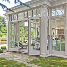Orangery with Bi-fold Doors - traditional - Sunroom - Other Metro - Vale Garden Houses