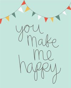 Send it to someone who makes you happy :)