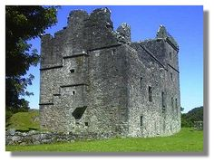 Carnasserie Castle (aka Carnassarie), Argyll & Bute, Scotland - c. 1565 by John Carswell, Rector of Kilmartin, Chancellor of the Chapel Royal at Stirling, and later titular Bishop of the Isles