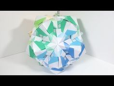 【Modular Origami】Chord Csus4 30 pieces【Puyocolor Original】26 - YouTube