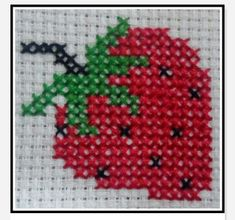 Thrilling Designing Your Own Cross Stitch Embroidery Patterns Ideas. Exhilarating Designing Your Own Cross Stitch Embroidery Patterns Ideas. Cross Stitch Fruit, Cross Stitch Kitchen, Mini Cross Stitch, Cross Stitch Cards, Simple Cross Stitch, Cross Stitch Flowers, Cross Stitching, Cross Stitch Embroidery, Embroidery Patterns