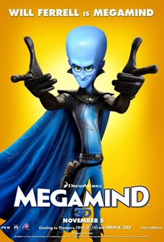 Megamind, one of my all time favourite films