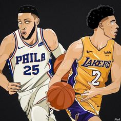 ITS GAME DAY!!! #Lakers (6-8) vs #Sixers (7-6) Tip-Off: 7:30 pm PT | 10:30 pm ET TV: @NBAonESPN Staples Center  @phresh.royalty   Lakers Ingram: 13.9 ppg 4.8 rpg. Kuzma: 14.9  ppg. 6.8 rpg. Lopez: 15.3 ppg. 4.8 rpg. Caldwell-Pope: 11.5 ppg. 5.1 rpg. Ball: 9.5 ppg. 7.2 apg.  Sixers Covington: 16.8 ppg. 1.62 spg Saric: 9.8 ppg. 5.2 rpg. Embiid: 20.9 ppg. 10.8 rpg. Redick: 15.1 ppg. 4.0 apg. Simmons: 17.8 ppg. 9.2 rpg.  The Lakers hold a 144-133 series advantage. The teams split last seasons…