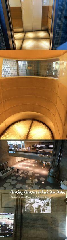 Elevating Elevators to Rock Star Status at the Mercedes-Benz Museum in Stuttgart, Germany