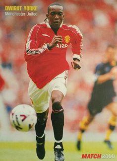 Dwight Yorke of Man Utd in 1999.