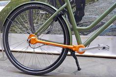 BFS2017: Brik Bikes' the chainless bicycles, no maintenance Dutch commuters