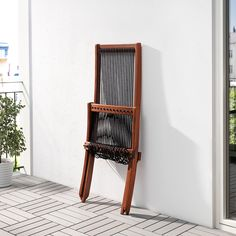 Easy to fold up and put away. Garden Chairs, Patio Chairs, Table And Chairs, Outdoor Chairs, Outdoor Furniture, Outdoor Decor, Fire Pit Height, Outdoor Lounge, Outdoor Seating