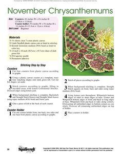 Floral Coasters Pg.29