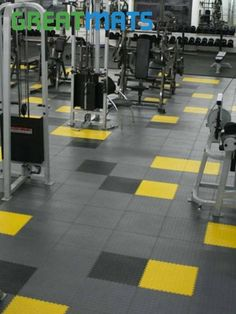 Our Warehouse Floor Coin PVC Tile is resistant to oil, gasoline, heat, cold and more. Garage Gym Flooring, Gym Flooring Tiles, Garage Floor Paint, Rubber Flooring, Parquet Flooring, Tile Floor, Flooring Ideas, Concrete Floors, Gym Design