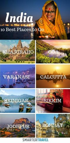 10 Best Places to Go in India!!
