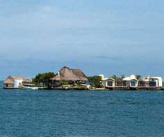 Colombia: Islas de Rosario a chain of 27 mostly uninhabited islands that are home to the country's largest coral reef