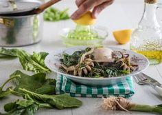 σουπιες με σπανακι Greek, Ethnic Recipes, Food, Greek Language, Meals, Yemek, Eten