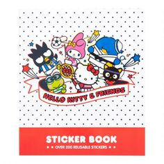 Hello Kitty and Friends Sports Sticker Book - v1 Binder Decoration, Hello Kitty Accessories, Pencil Boxes, Cat Stickers, Sanrio, Gifts For Kids, Backdrops, Friends, Sports