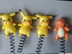 ponteira de lápis do pokemon de biscuit(acompanha lápis)