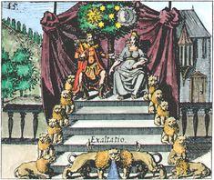 """""""Philosophia reformata"""" di Johann Daniel Mylius. Francoforte, 1622."""