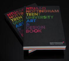 NTU Art & Design Book 08/09 by Andrew Townsend, via Behance