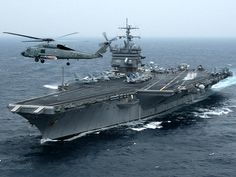 USS Enterprise , formerly , is the world's first nuclear-powered aircraft carrier and the eighth Uni. Uss Enterprise Cvn 65, Nigerian Navy, Navy Carriers, Uss Constitution, Navy Aircraft Carrier, Go Navy, Us Navy Ships, Deck, United States Navy