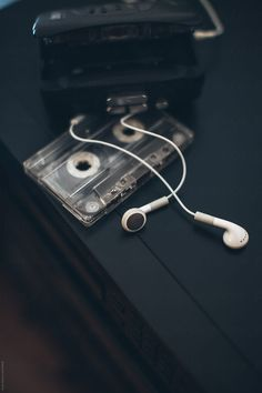 Walkman and cassettes by Zoran Djekic for Stocksy United aesthetic Images Esthétiques, Music Images, Iphone Wallpaper Music, Wallpaper Backgrounds, Music Aesthetic, Retro Aesthetic, Aesthetic Pastel, Dark Wallpaper, Galaxy Wallpaper