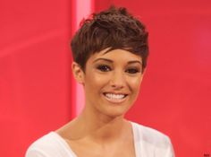 Best hairstyles of 2011: Frankie Sandford with a cute pixie crop