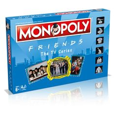 The only version of Monopoly many have been waiting for and that many are F.S fans! Yes they finally have made an official Friends Monopoly Tv: Friends, Friends Tv Show Gifts, Friends Episodes, Friends Moments, Friends Series, Friends Merchandise Tv Show, Friends Trivia, Lego Friends, Great Friends