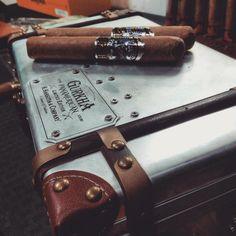 Masterfully blended and packaged in nothing short of amazing, this Connecticut wrapped cigar is something special. #gurkha #gurkhacigar #cigar #cigars #cigarsnob #cigarporn #cigarlife #cigarsociety #premiumcigar #cigaraficionado #cigarsmoker #GurkhaPanAmericanXO #PanAmericanXO #lit #wednesdayvibes