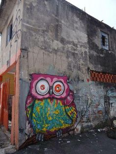 Urban art by Binho Ribeiro